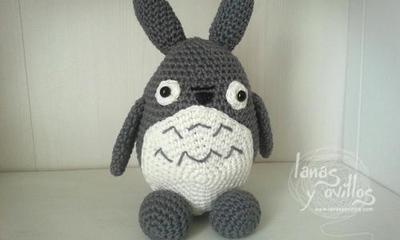 """Patrón """"Mi Vecino Totoro"""""""