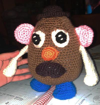 Patrón Muñeco Mister Potato