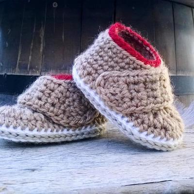 donpatron - PATRON Botas bebe crochet Oxford
