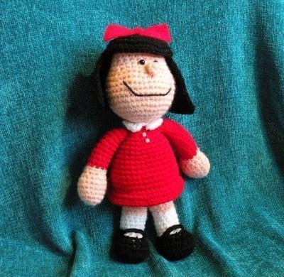 Patrón amigurumi Mafalda