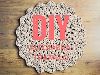 Donpatron c mo hacer una alfombra de trapillo redonda f cil - Alfombra trapillo facil ...