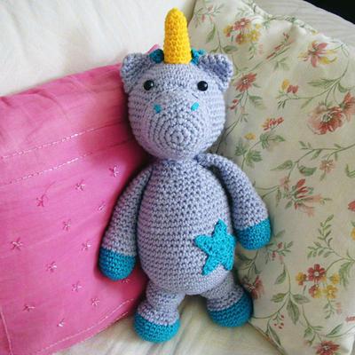 donpatron - Patron de unicornio amigurumi en crochet