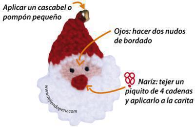 Carita de Papa Noel