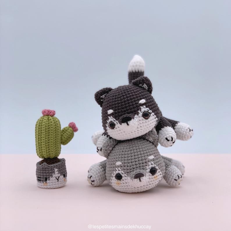 Ravelry: Nanook the Husky pattern by Lisa Beauchemin | 794x794