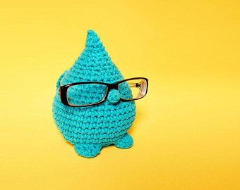Patrón ganchillo - gota intelectual - sujeta gafas