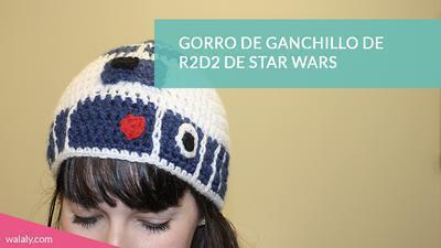 Patrón Gorro Ganchillo R2d2 De Star Wars