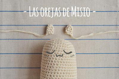 Misio (brazos y orejas) amigurumi