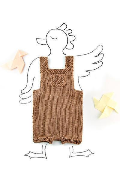 Hansel romper knitting kit