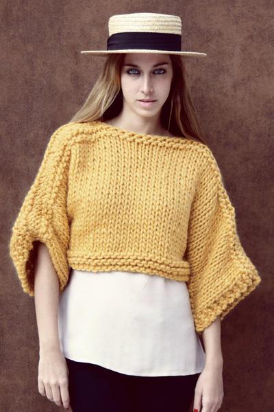 Madison Sweater knitting kit