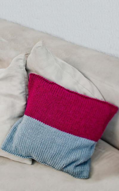 Miso Cushion Knitting kit