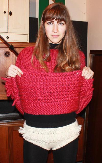 Pants knitting kit