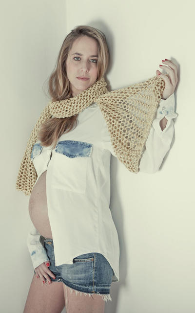 Salt Scarf knitting kit