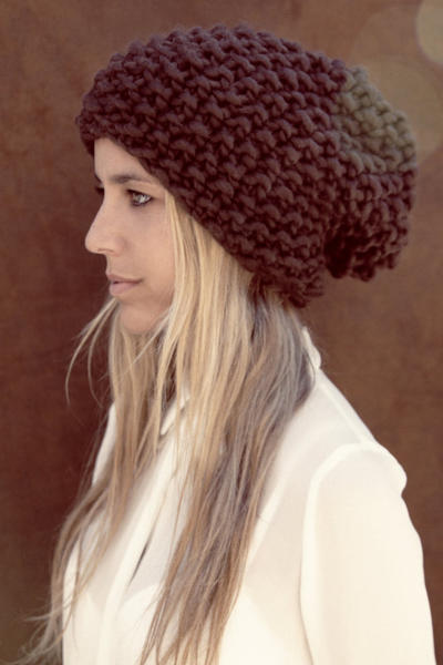 Sienna Beanie Knitting kit