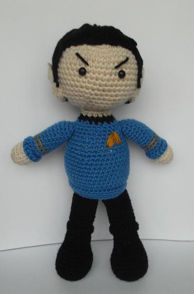 Amigurumi Mr. Spock pfd