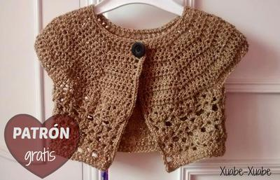 Torero para niña en crochet - Imagui
