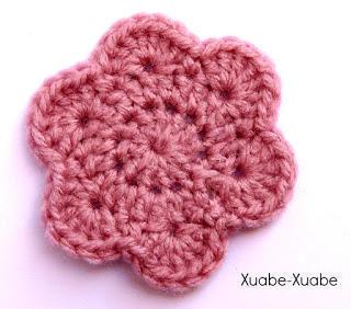 Flor Sencilla a Crochet