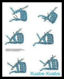 Puntos Básicos de Crochet y sus Abreviaturas