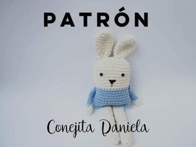 PATRÓN Conejo Daniela Amigurumi