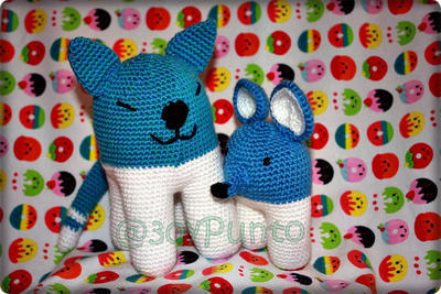 Ball Cat and Biped Mouse Pattern Crochet (Patrón en español)