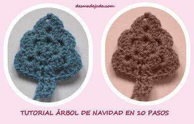 Patrón amigurumi Arbol de Navidad a crochet   Tamknitting   256x400