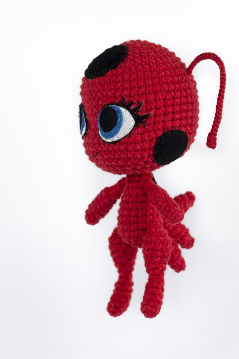 Patrón amigurumi Ladybug by amigudolls