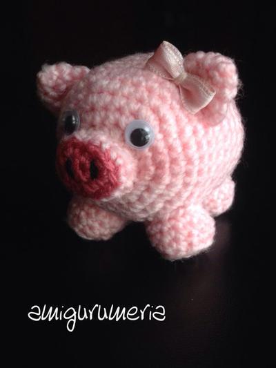 Alan Craft Crochet Diy: AMIGURUMI CERDITO - PATRÓN ESCRITO | 533x400