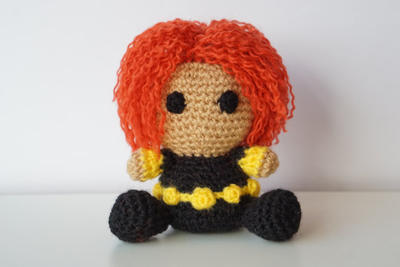 CROCHET PATTERN Heroine Captain Doll // Superhero Crochet Pattern ... | 267x400