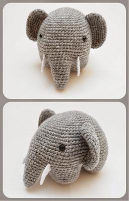 Amigurumi Sonajero Elefante | 400x256