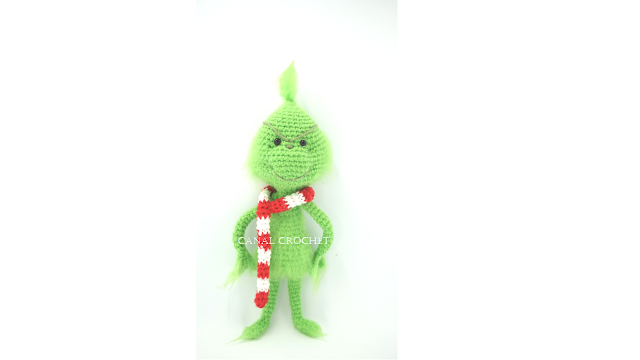 Grinch amigurumi tutorial