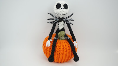 Jack Skeleton amigurumi tutorial