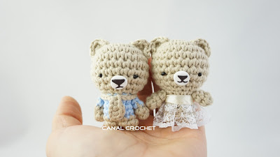 Mini osito amigurumi tutorial