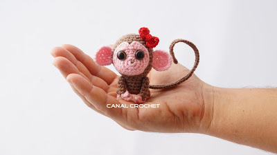 Monito amigurumi tutorial