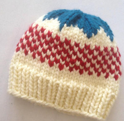 Candy Hat Knitting Pattern