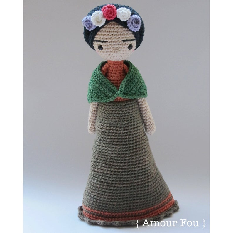 Mexican Doll - Crochet Pattern