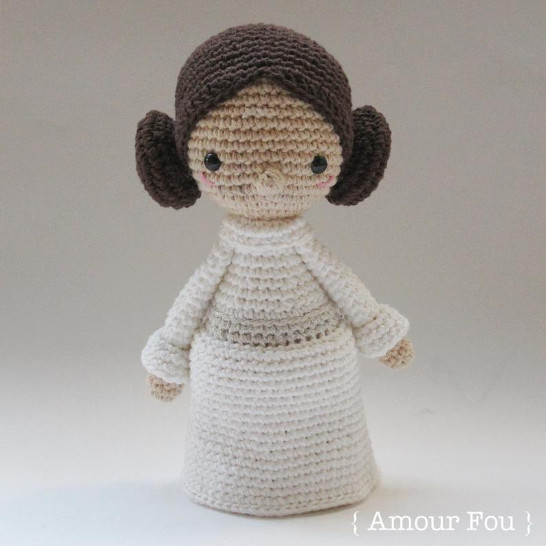 Mini princesa Leia
