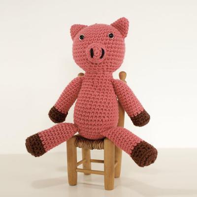 Maialino Uncinetto - Amigurumi tutorial - Little Pig Crochet - Cerdito  Crochet - YouTube | 400x400