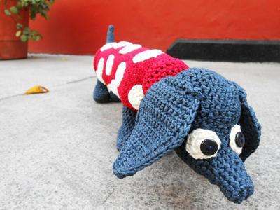Amigurumi Crochet Yorkshire Terrier Dog Free Pattern - Amigurumi ... | 300x400