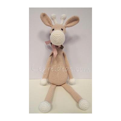 Jirafa amigurumi, patrón de My Krissie Dolls | Jirafa amigurumi ... | 400x400