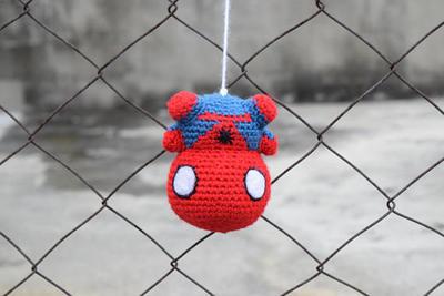 Amigurumi spiderman crochet pattern | Patrones amigurumi ... | 267x400