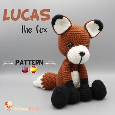 Amigurumi #20: Fox of the little prince — Steemit | 400x400