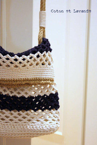 Tutorial Striped Bag (Tercera parte)