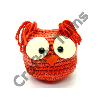 Kit de ganchillo amigurumi XL Mr. Owl