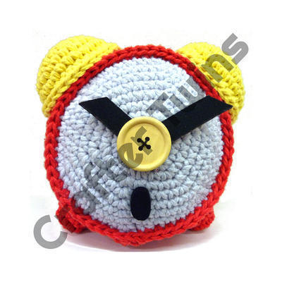 Kit de ganchillo amigurumi XL Richard the Clock