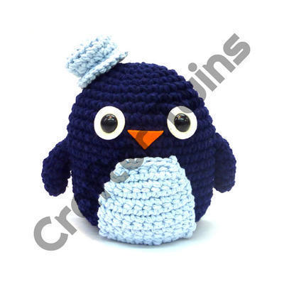 Kit de ganchillo amigurumi XL Ron the Penguin