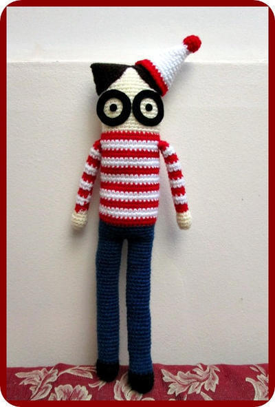 Tutorial de Amigurumi Wally
