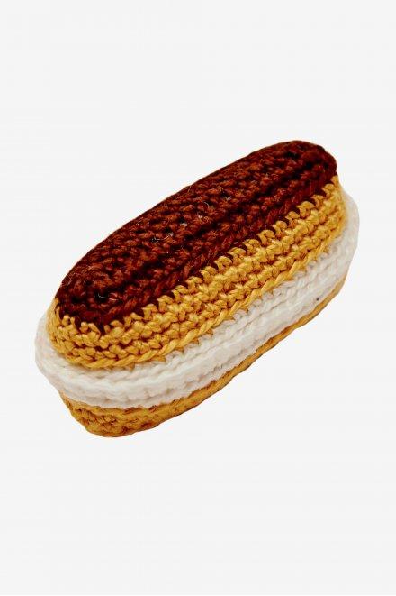 Patrón amigurumi Petisú de chocolate DMC