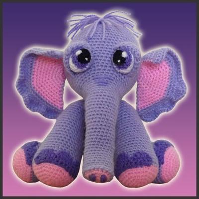 Colgante de elefantes a crochet | ENGLISH SUBTITLES - YouTube | 400x400