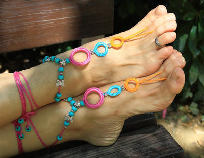 Patrones de sandalias - donpatron