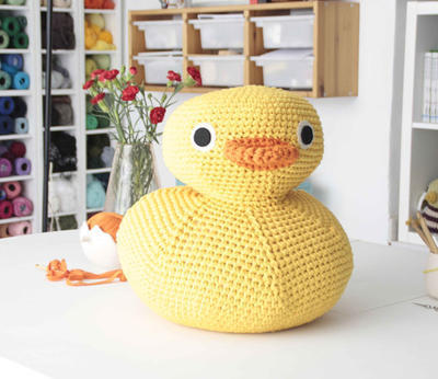 Amigurumi Pato XXL (PDF pattern for download)