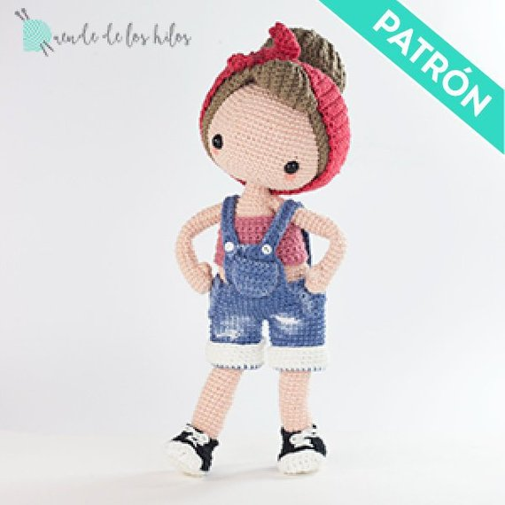 Patrón Amigurumi Pin Up a Crochet